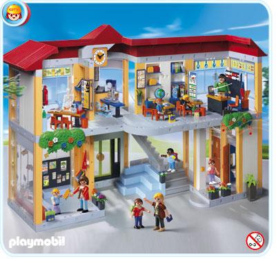 Playmobil 4324 school hollandmegastore for La casa de playmobil