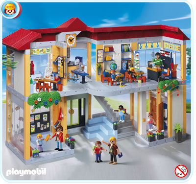 Playmobil 4324 school hollandmegastore for Mansion de playmobil