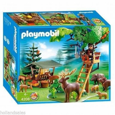 Playmobil 4208 forest rangers post new in box for Playmobil post