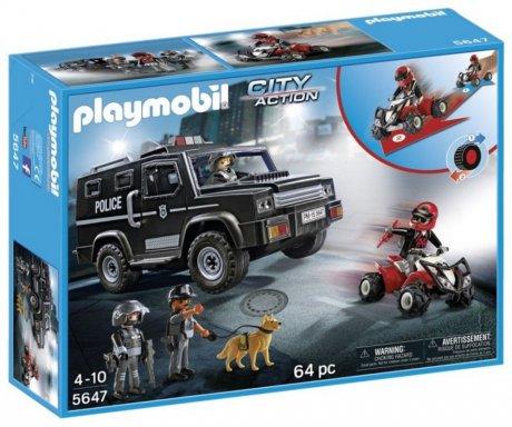 Playmobil City Action 5647 Police Set Hollandmegastore