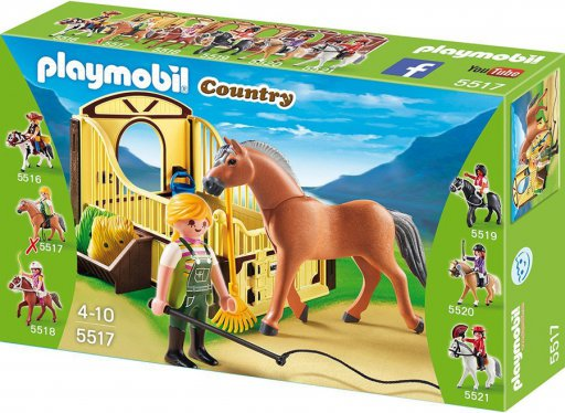playmobil country 5517 fjord paard