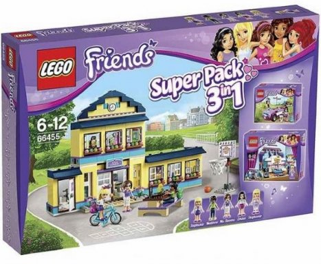 Lego Friends 66455 - Super Pack 3-IN-1 41004 41005 41013 ...