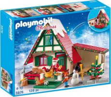 Playmobil Christmas 5976 - Santa Claus House Home