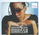 MARISSA - DEDICATED TO LOVE CD SINGLE 4 TRACKS