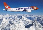 AIRLINE ISSUE POSTCARD - EDELWEISS AIR AIRBUS A320