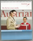 AUSTRIAN AIRLINES office desk calendar 2009