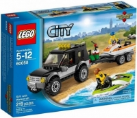 Lego City 60058 - SUV met Waterscooters