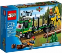 Lego City 60059 - Boomstammentransport