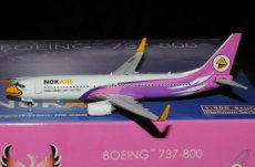 Nok Air Thailand Boeing 737-800 HS-DBM 1/400 scale desk model Phoenix