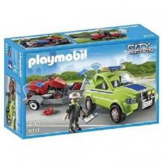 Playmobil City Action 6111 - Maintenance and Lawn Mawer