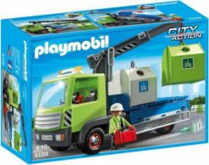 Playmobil City Action 6109 - Glass Recycling Truck