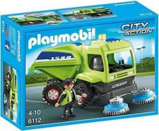 Playmobil City Action 6112 - Worker with Sweeper