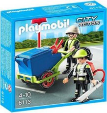 Playmobil City Action 6113 - Team Road Maintenance