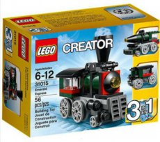 Lego Creator 31015 - Emerald Express Train