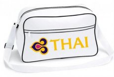 Thai Airways White Shoulder Bag / Schoudertas
