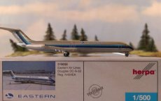 Eastern Air Lines DC-9-50 1/500 scale desk model
