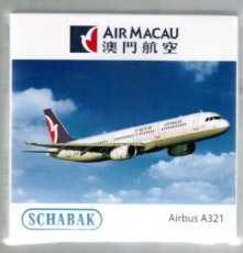 Air Macau Airbus A321 scale model Schabak