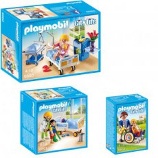 Playmobil City Life 6660 6661 6663 - Set