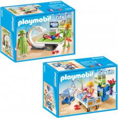 Playmobil City Life 6659 6660 - Set