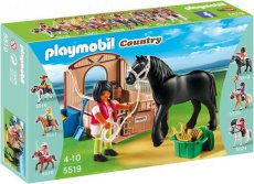 Playmobil Country 5519 - Fries paard / horse
