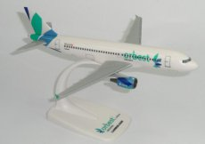 Orbest Orizonia Airbus A320 1/200 scale desk model