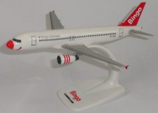 Bingo Airways Airbus A320-200 1/200 scale desk model