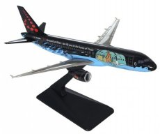 Brussels Airlines Airbus A320-200 Rackham Kuifje Tintin 1/200 scale desk model