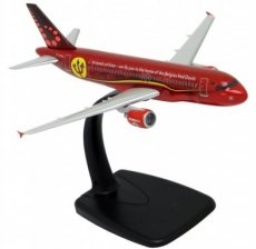 Brussels Airlines Airbus A320-200 Red Devils 1/200 scale desk model