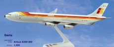 Iberia Airbus A340-300 1/200 scale desk model Long Prosper