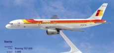 Iberia Boeing 757-200 1/200 scale desk model Long Prosper