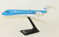 KLM Cityhopper Fokker 70 1/100 scale desk model Long Prosper
