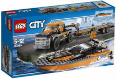 Lego City 60085 - Speed Boat and 4 x 4