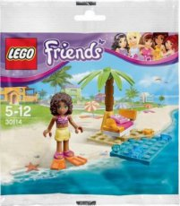 Lego Friends 30114 - Andrea´s Beach Lounge Polybag