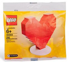 Lego Holiday 40004 - Valentine´s Day Heart Polybag