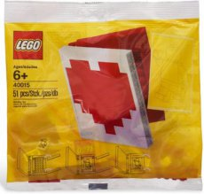 Lego Holiday 40015 - Valentine´s Day Heart Book Polybag