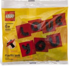 Lego Holiday 40016 - Valentine´s Day Letter Set Polybag