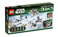 Lego Star Wars 66449 - Super Pack 3 in 1 (75000, 75003, 75014)