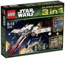 Lego Star Wars 66456 - Super Pack 3 in 1 (75002, 75004, 75012)