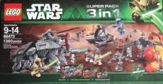 Lego Star Wars 66473 - Super Pack 3 in 1 (75015, 75016, 75019)