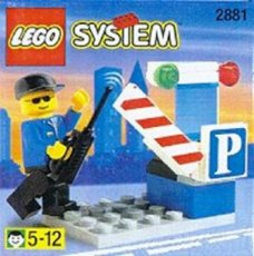 Lego System 2881 - Parking Gate Attendant