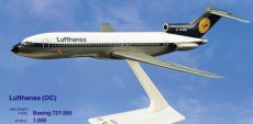 Lufthansa Boeing 727-200 1/200 scale desk model Long Prosper