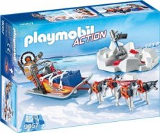 Playmobil Action 9057 - Eskimo Dogs Sled