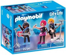 Playmobil City Life 5605 - Band Members Pop Stars Rock Guitar