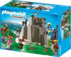 Playmobil Country 5423 - Mountain Climbers with Animals
