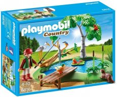 Playmobil Country 6816 - Fishing Pond with Animals