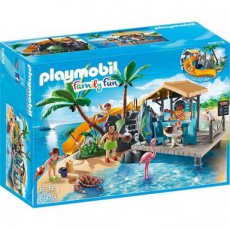 Playmobil Family Fun 6979 - Caribbean Island with Beach