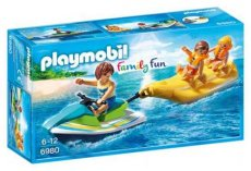 Playmobil Family Fun 6980 - Jetski met Bananenboot