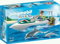 Playmobil Family Fun 6981 - Diving Trip with Pleasure Craft