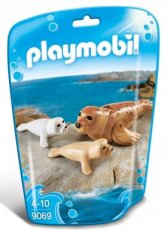 Playmobil Family Fun 9069 - Seal Family