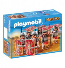 Playmobil History 5393 - Romans Turtle Formation